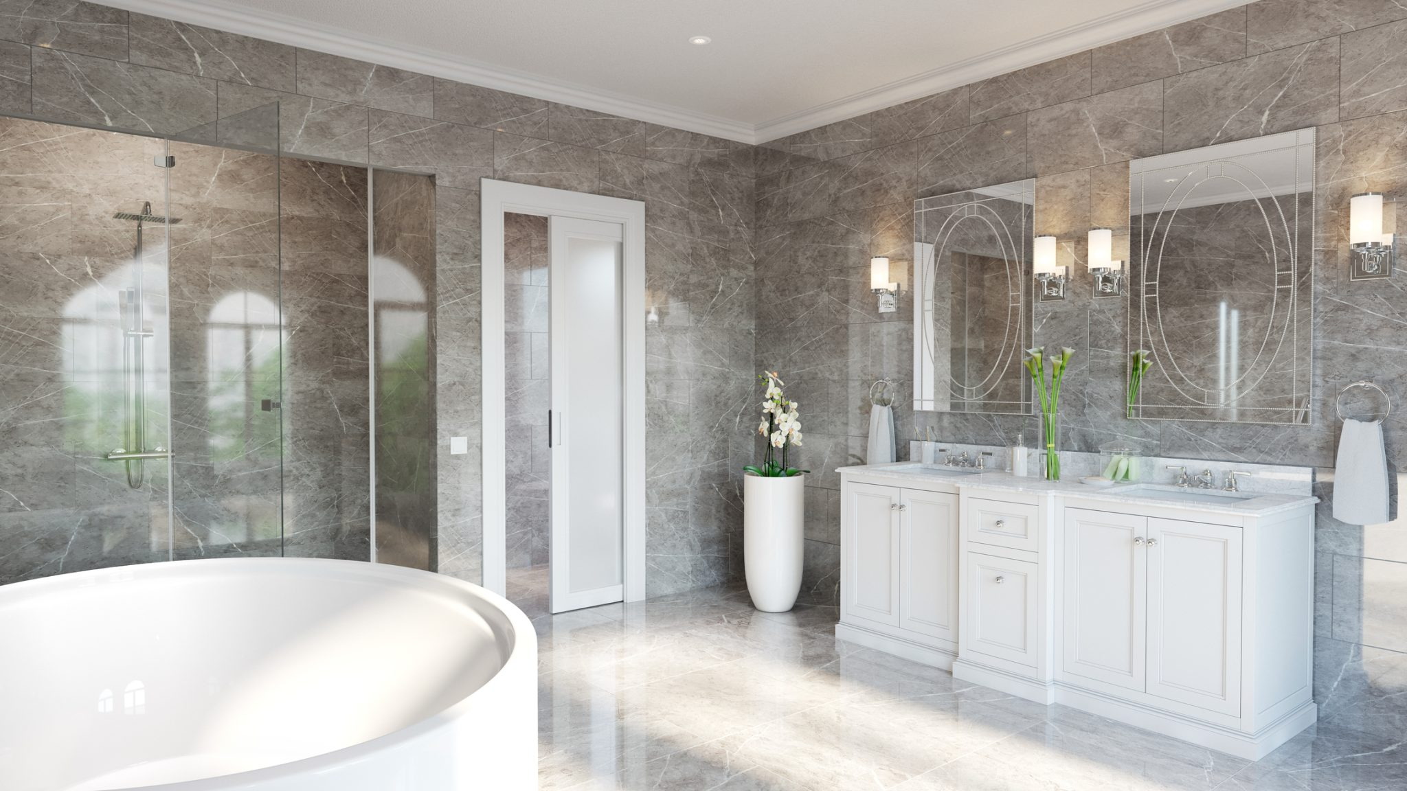Luxury Ensuite for Master Bedroom - City House Country Home